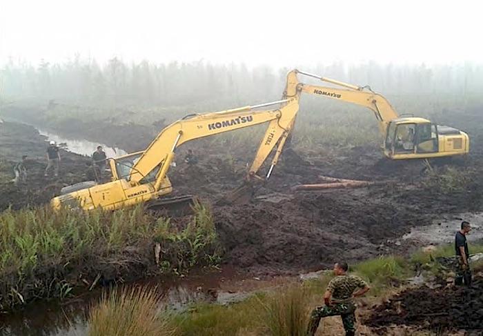 Canalblocking1 Indonesiens Waldbrände: Monsumregen, El Niño und der Kampf der Regierung Energie und Wasser Umwelt