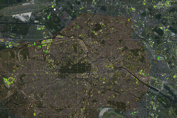 Dachgärtenflächen in Berlin